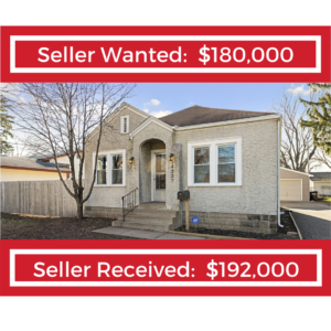 Sell Wanted, Seller Received - Jarrod Peterson Real Estate Group