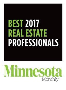 Minnesota Monthly Best 2017 Real Estate Professionals Jarrod Peterson Real Estate Group