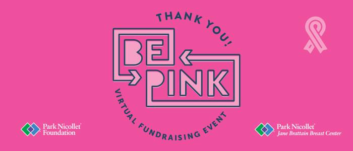 2020 Virtual Be Pink Fundraiser Event